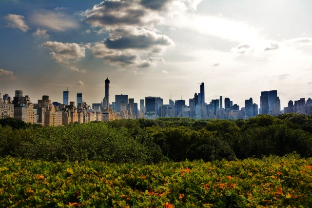 Manhattan from the MET Roof Garden