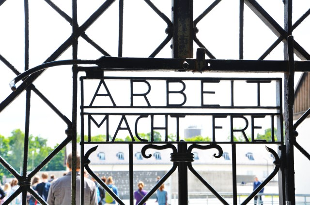 """Work Makes You Free"" - Dachau Camp"
